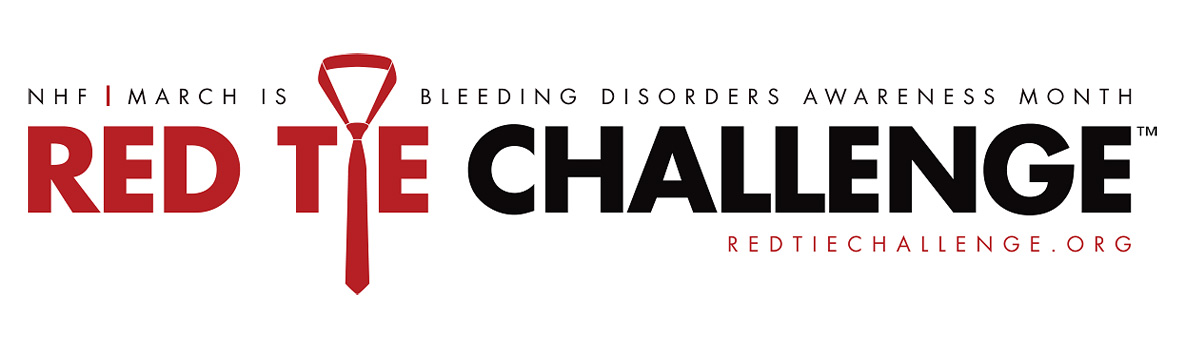 Bleeding Disorders Awareness: Take the Red Tie Challenge!