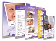 """Learn the Signs. Act Early"" Program Materials Thumbnails"
