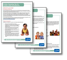 Child Development Fact Sheets Thumbnail