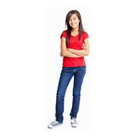 Pre-teen girl