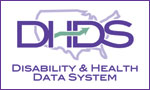 Disability and Health Data System (DHDS) button