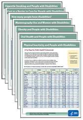 Disability and Health program fact sheets