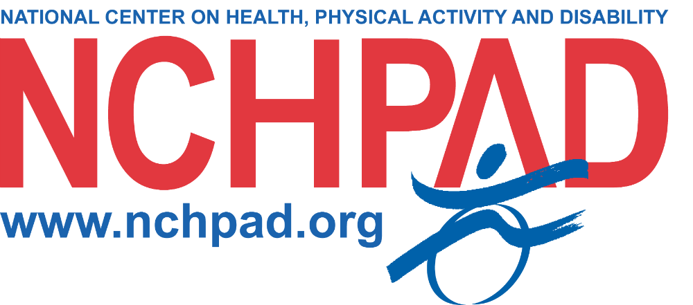 Logo for National Center on Health, Physical Activity and Disability (NCHPAD)
