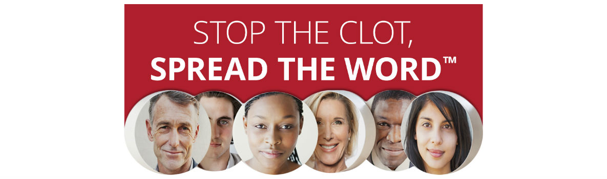 Image banner of Stop The Clot, Spread The Word Campaign