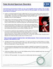 Fetal Alcohol Spectrum Disorders Fact Sheet