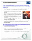 Alcohol and Pregnancy Fact Sheet