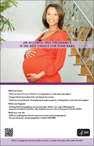 An Alcohol-Free Pregnancy is the Best Choice for Your Baby (woman looking ahead)
