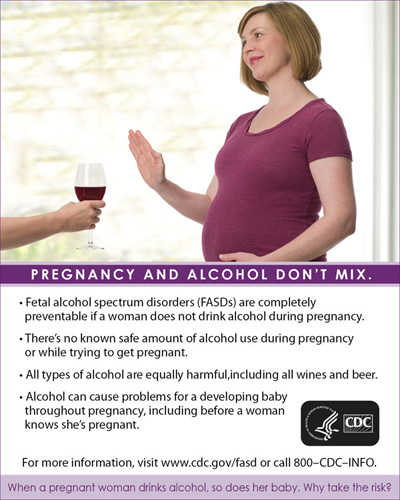 Pregnancy and Alcohol Don't Mix