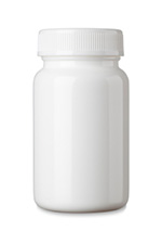 Over the counter medicine bottle