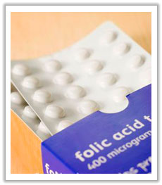 package of folic acid pills