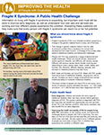 Fragile X Syndrome: A Public Health Challenge