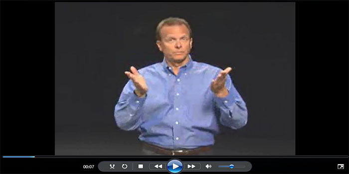 Screenshot of ASL video
