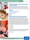 Executive Summary Factsheet for Audiologists