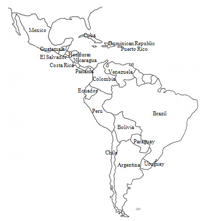 image of Latin America