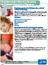 Executive Summary Factsheet for Pediatric Primary Care Physicians