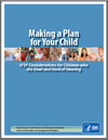 Making a Plan for your Child Cover