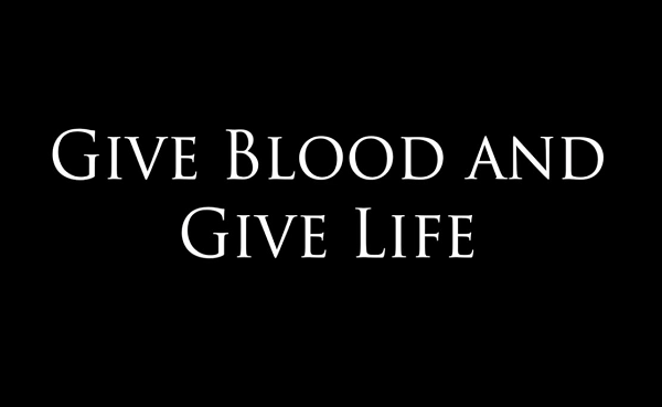 Blood Donations Needed Among African Americans. Give Blood, Save a Life