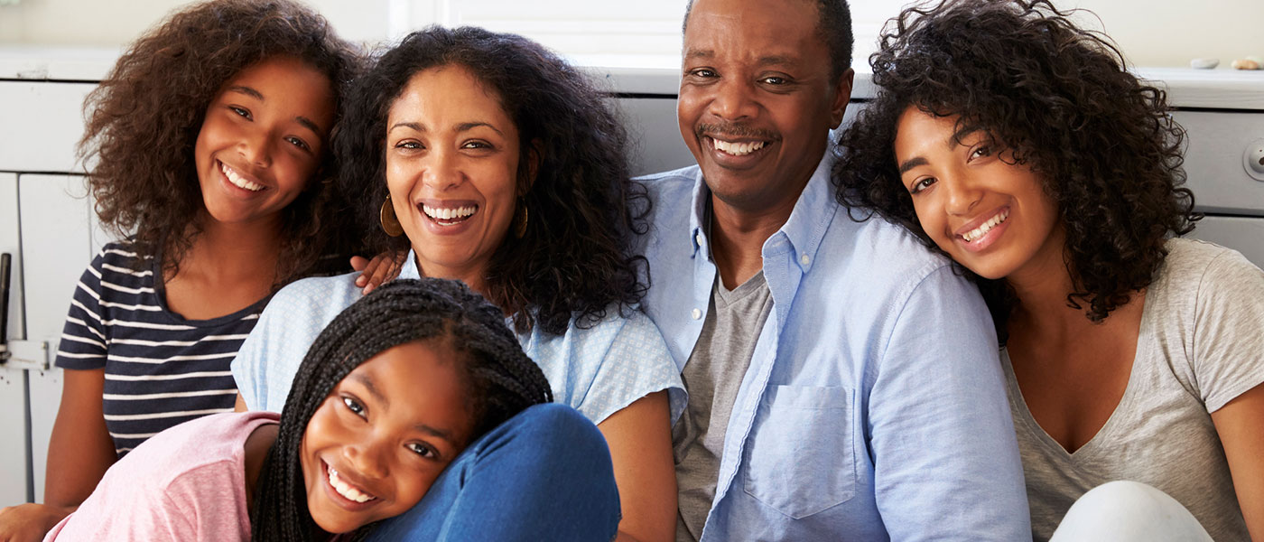 A Healthy African American Family