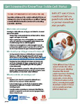 Sickle cell Status fact sheet