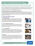 Fact Sheet: Sickle Cell Disease and College