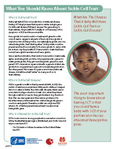 Fact Sheet: Sickle Cell Trait Cover