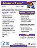 LTSAE Spanish Checklist 9 meses thumbnail