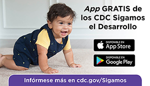 CDCs Milestone tracker app - Spanish