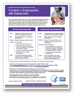 developmental monitoring and screening spanish