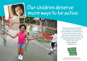 Our children deserve more ways to be active