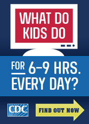 CDC Screen Time vs. Lean Time Image 180x250 pixels