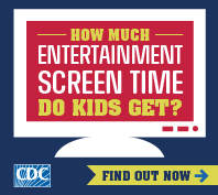 CDC Screen Time vs. Lean Time Image 198x177 pixels