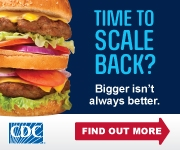 CDC Time to Scale Back Image 180x150 pixels