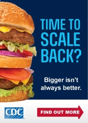 CDC Time to Scale Back Image 180x250 pixels