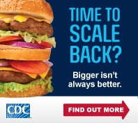 CDC Time to Scale Back Image 198x177 pixels