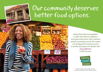 Our community deserves better food options