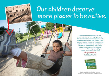Our children deserve more places to be active