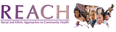 Racial and Ethnic Approaches to Community Health (REACH) logo
