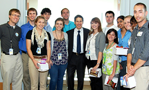 CLEH group photo with CDC Director - Thomas Frieden