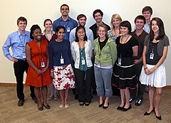 2009 group photo of interns