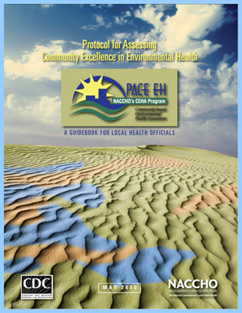Cover image of Protocol for Assessing Community Excellence in Environmental Health (PACE EH).