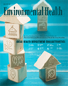 April 2018 JEH Cover shot for publication Organizational Characteristics of Local Health Departments and Environmental Health Services and Activities