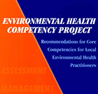 Cover of the Environmental Health Competency Project publication