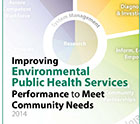 Image of the cover of Improving Environmental Public Health Services Performance to Meet Community Needs
