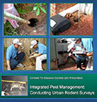 Image of the cover of the Integrated Pest Management: Conducting Urban Rodent Surveys Manual
