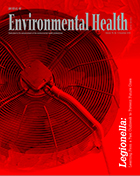 Cover image for the December Journal of Environmental Health.