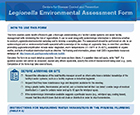 Legionella Environmental Assessment Form