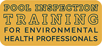 Banner: Pool Inspection Training for Environmental Health Professionals