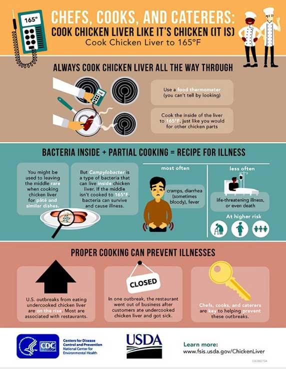 Chicken Liver Infographic Image