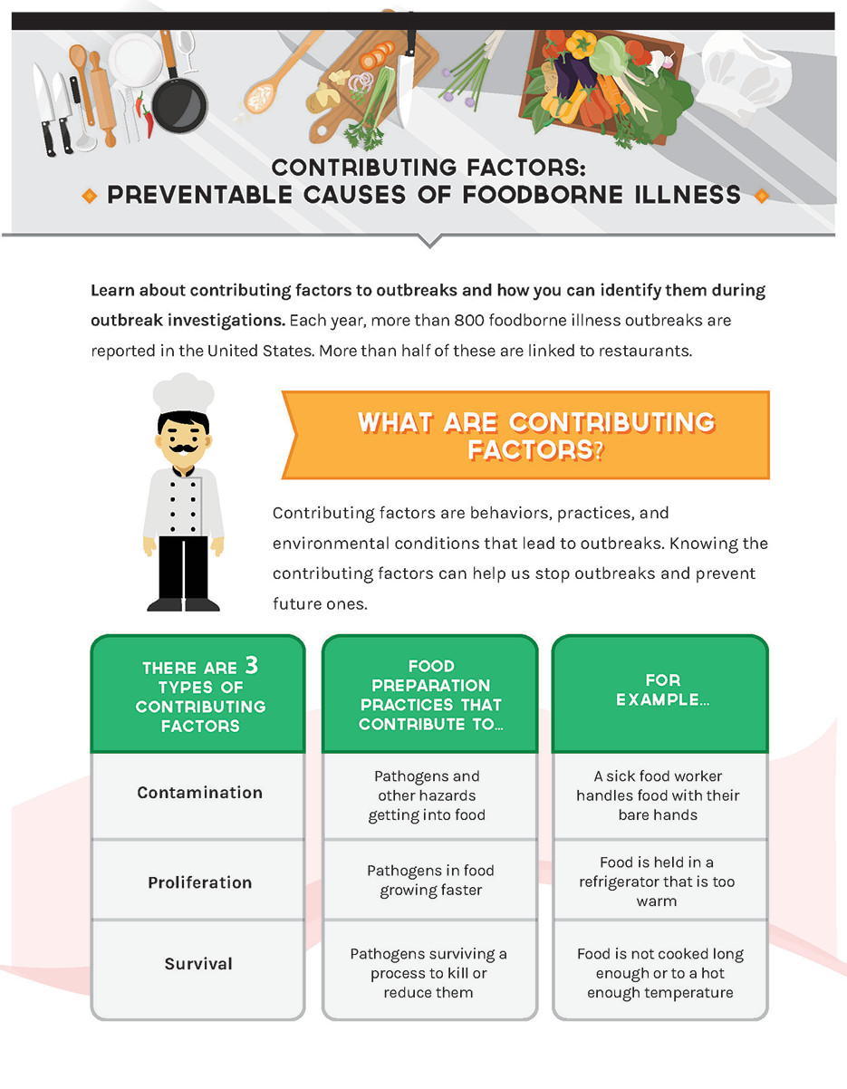 Full view of Contributing Factors Infographic page 1