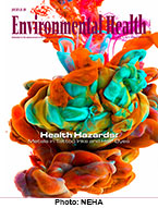 Cover image of the Jan. - Feb. 2016 image of the Journal of Environmental Health
